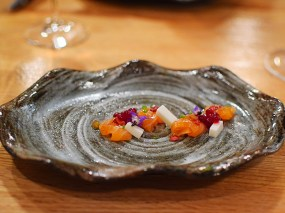 Piccolo: Salmon Crudo