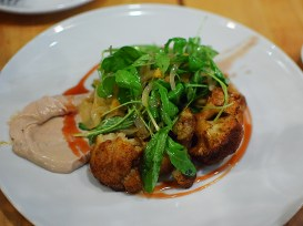Le Comptoir: Roasted Cauliflower