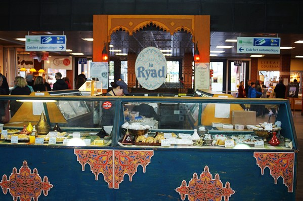 Right in the middle of the food area is this large bakery that seems to have a Middle Eastern and Mediterranean focus.