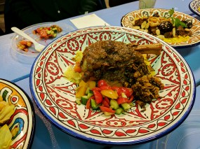 Moroccan Flavours: Lamb Shank Tagine