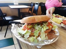 Here's a torta with the same chicken inside.