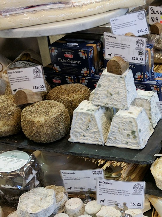 More small-format soft cheeses.