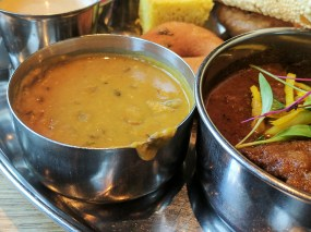 As was the dal---thankfully, not dal makhani.