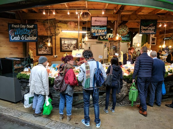 Borough Market: Furness Fish and Game