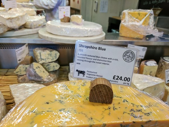 Paxton & Whitfield: Shropshire Blue