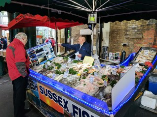 Borough Market: Sussex Fish