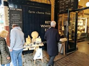 Neal's Yard Dairy, Borough Market: Entrance