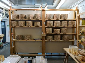 Neal's Yard Dairy, Borough Market: Cheese Wheels