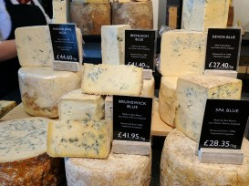 Neal's Yard Dairy, Covent Garden: Blue Cheeses
