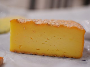 Semi-soft cow's milk cheese from Ireland, this is mild and milky with a slightly spongy texture.