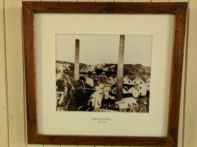 Old picture of the distillery as it once was.