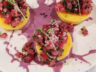 Ceviche: Tuna Tacna