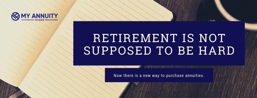 Retirement isn't supposed to be hard - cd type annuity infographic