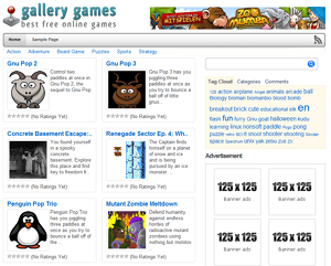 GalleryGames – Free WP Arcade Theme