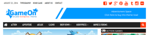 GameOn – WordPress Arcade Theme