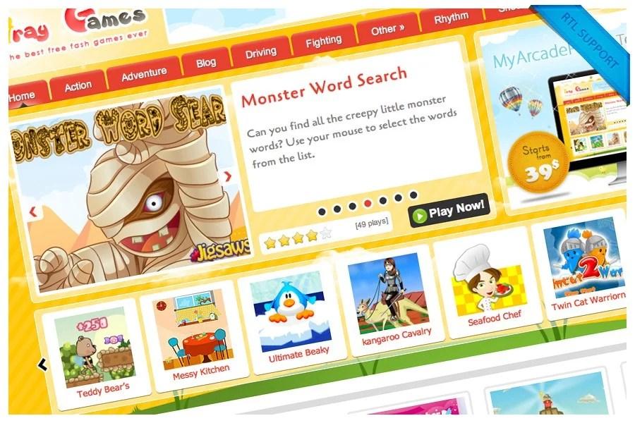 MyArcadePlugin - Wordpress Arcade Plugin