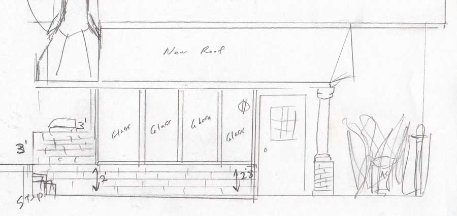 Planning for a grilling/greenhouse/generator/rain porch
