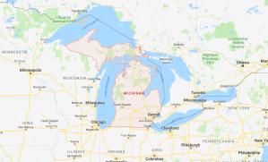 989 Area Code Map