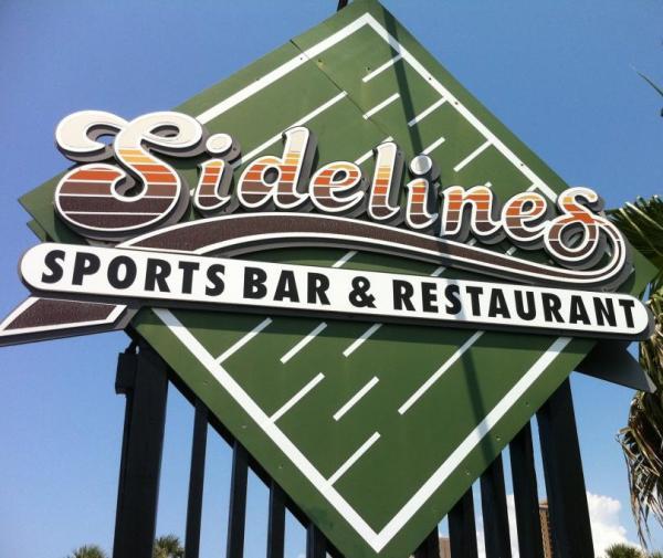 Sidelines Sports Bar  Bar  Restaurant  Pensacola Beach