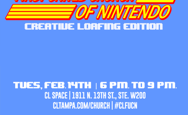 First United Church Of Nintendo Creative Loafing Edition
