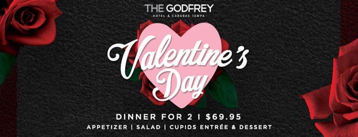 Valentine's Day Dinner At Beach Bar & Restaurant, Tampa FL