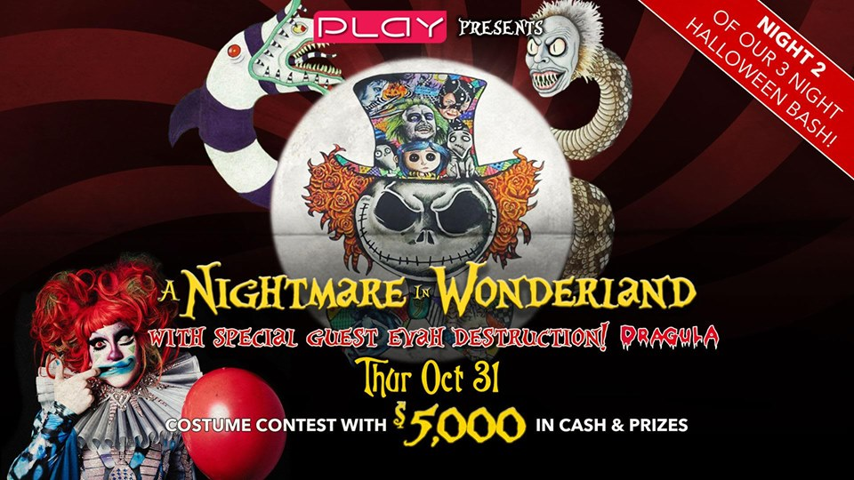 Finder is committed to editorial independence. Halloween 2019 Night Two: A Nightmare In Wonderland, Nashville TN - Oct 31, 2019 - 8:00 PM