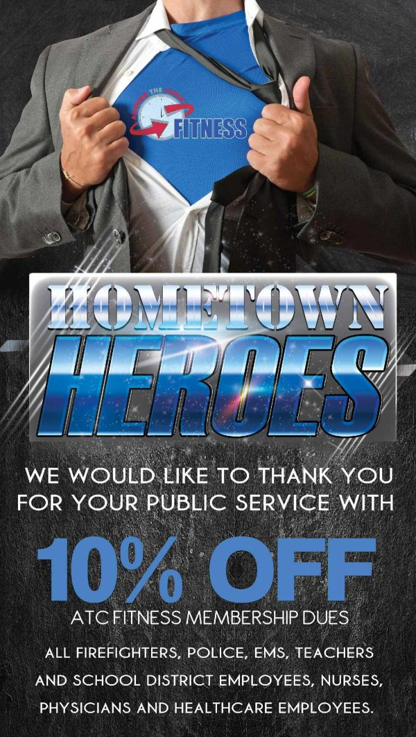 Hometown Heroes Specialty Membership Clock