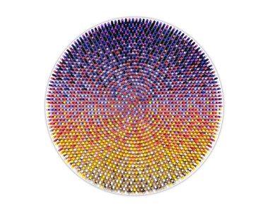 GEOMETRICIZE, a solo show by Matt Bilfield at Black Book Gallery