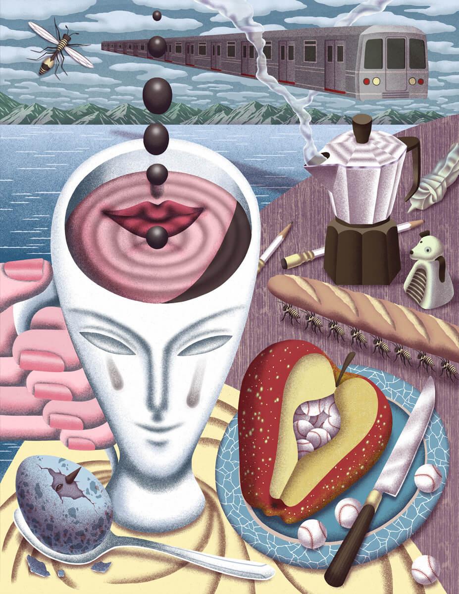 illustrations by Dani Choisurreal