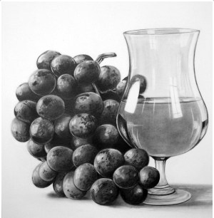 still drawings drawing pencil sketch realistic artists myartmagazine sketches sketching charcoal graphite creative shading calligraphy objects wine explore object adolfy