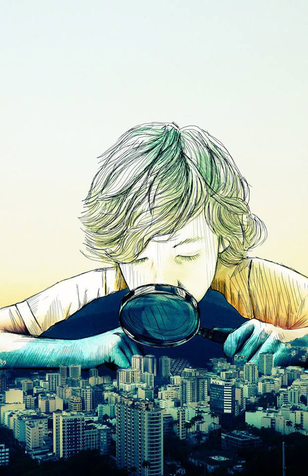 11. Surreal Illustration by Christopher Guzman
