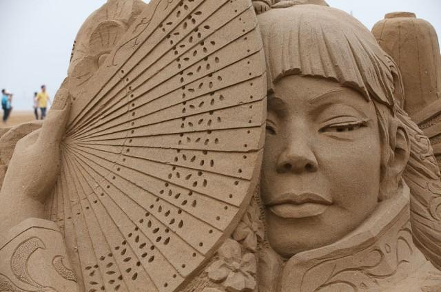 17. Beautiful Sand Sculpture