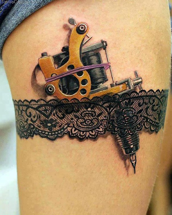 20. 3d tatoo art
