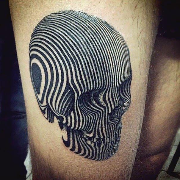 24. 3d tatoo art