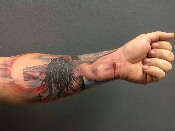 33. 3d tatto art