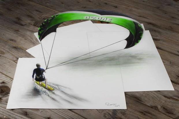 3d-art-kiteSurfer