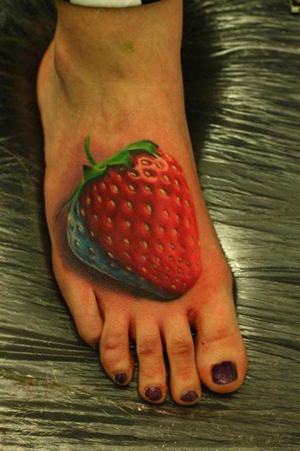 41. 3d tatto art