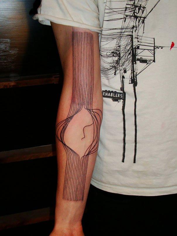 46. 3d tatto art