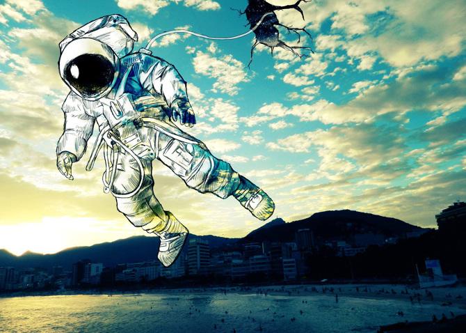 5. Surreal Illustration by Christopher Guzman