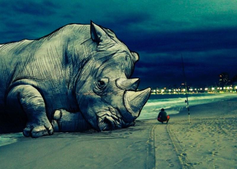 6. Surreal Illustration by Christopher Guzman
