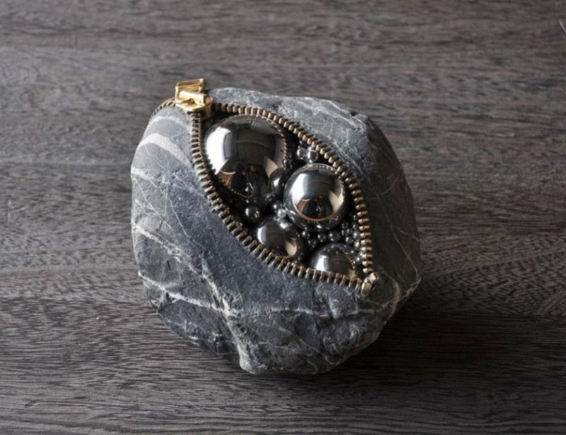 8. Hirotoshi Ito Stone Sculpture