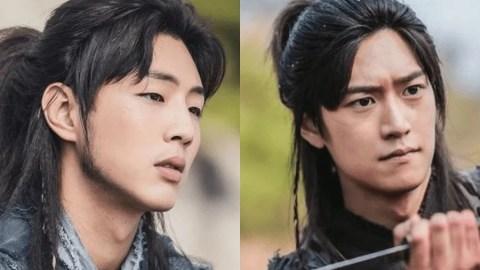 """هل """"جي سو Ji soo"""" أو """"نا إن وو Na In Woo"""" الأفضل لبطولة دراما """"النهر حيث يصعد القمر"""""""