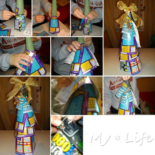 How to make a lottery ticket tree