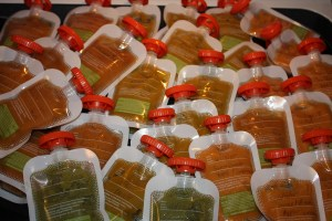 Lots of baby food!