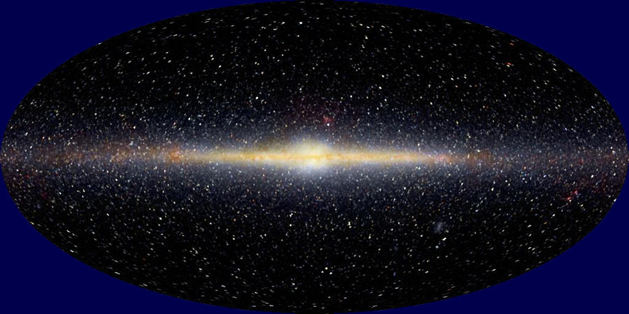 The Galactic Center Of The Milky Way: The Great Central Sun