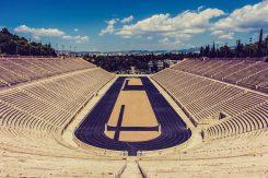myathenian Athens Greece Panathenaic Stadium