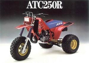 Vintage 1986 ATC250R For Sale (Still in Original Crate)  My ATV Blog