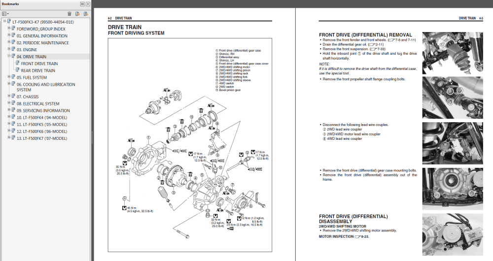 medium resolution of suzuki 4wd atv wiring diagram