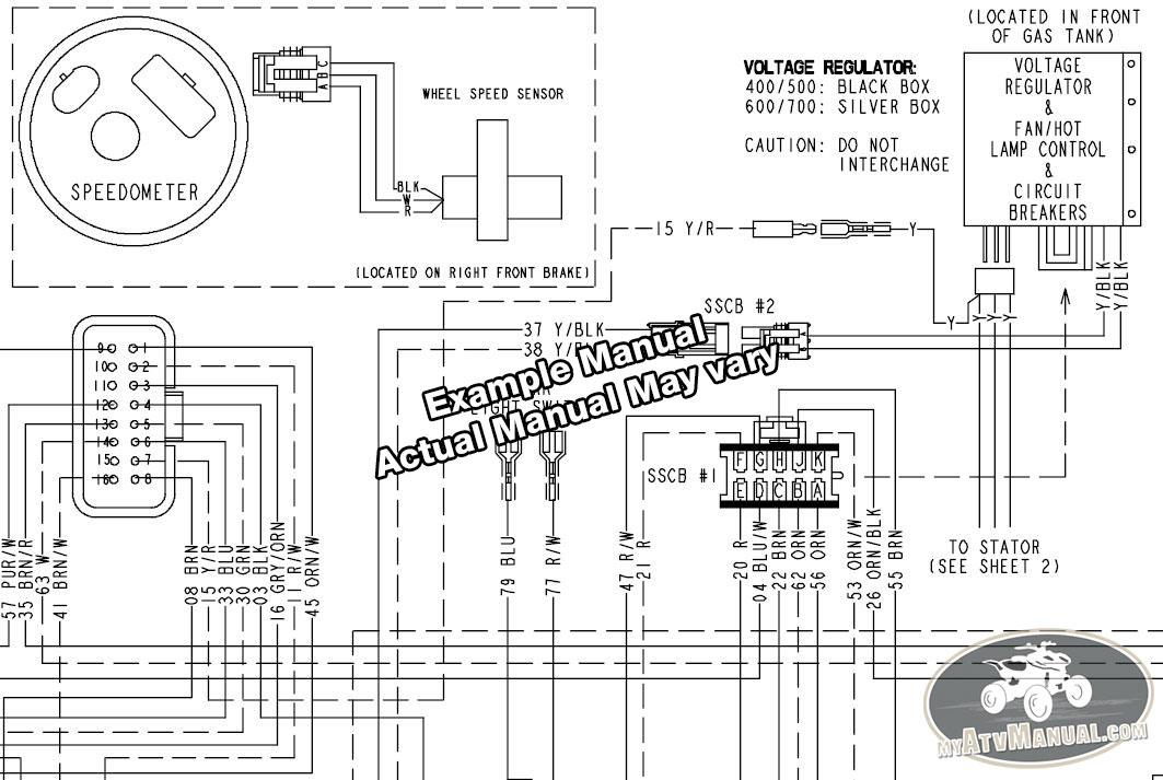 suzuki vinson 500 electrical diagram