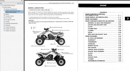 1987-1990 Suzuki LT500R Quadzilla Service Repair Manual